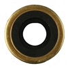 7-54 Sure Seal Brass Washer with Neoprene, 100/pkg
