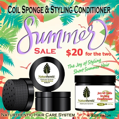 Coil Sponge & Styling Conditioner