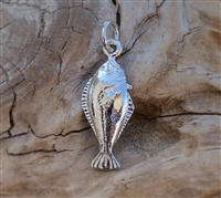 Dangle Flounder Charm