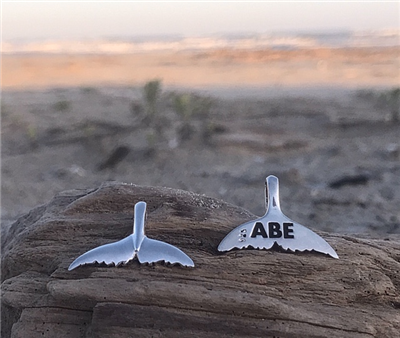 Abe Dolphin Tail Pendant