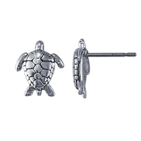 Sea Turtle Post Earrings