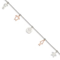 Rose Tone Sea Shore Anklet