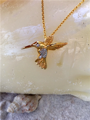 Humming Bird Pendant
