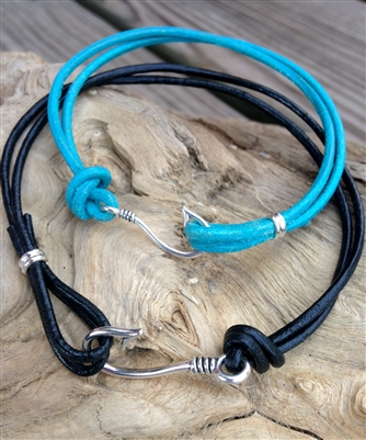 Leather Hook Bracelet