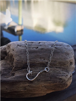 Sideways Hook Necklace
