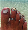 Crab Toe Ring
