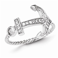 CZ Anchor Ring