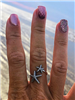 Adjustable Starfish Ring