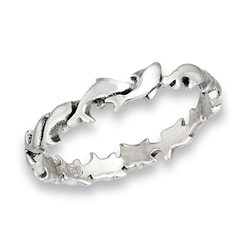 Dolphin  Eternity Ring