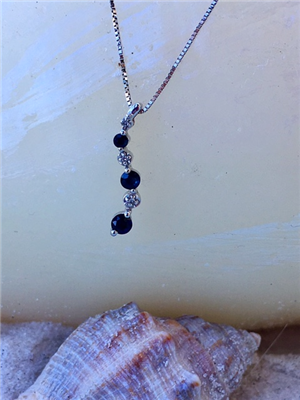 Sapphire Journey Necklace