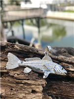Silver Redfish Pendant