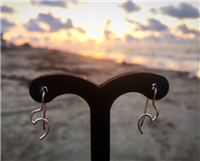 Sideways Wave Earrings