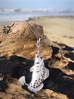 Trout  Hook Pendant