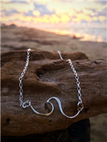 Sideways Wave Necklace