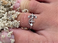 Anchor Toe Ring with Rope