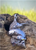 Inshore Slam with Swordfish Pendant