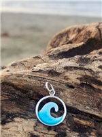 Cut Out Wave Pendant