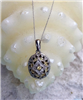 White and Yellow Diamond Necklace