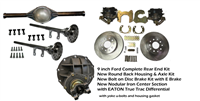 PEM HOT ROD 9 INCH REAR END KIT TRUE TRAC COMPLETE WITH  DISC BRAKES