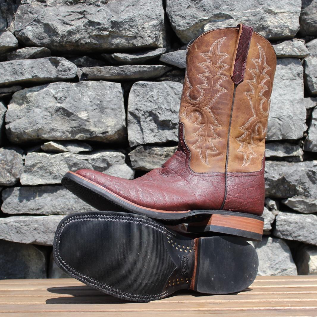 Rios Of Mercedes Mens Cigar Elephant Cowboy Boots
