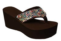 Scandalous Designs Miss Vegas Fiesta Sandals