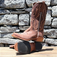 Rios Of Mercedes Double Face Chili Cowgirl Boots