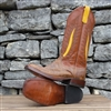 Anderson Bean Palm Inlay Busted Blonde Cowboy Boots