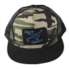 Rope Smart Mesh/CAMO Snap Back