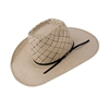 "American Hat Company Tan Two Tone Diamond Vented 4 1/4"" Brim"