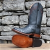 "Anderson Bean Men's Full Quill Ostrich ""Midnight Rider"""