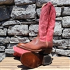 Anderson Bean Mens Red Rocking Bison