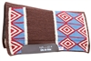 SMX 33X38 Felt Choc-Blue Saddle pad