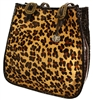 Double J Leaopard Doctors Bag with Croc Print