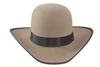 "Rodeo King 5X Freedom Ridge Brown w/ Bound Edge 4"" Brim"
