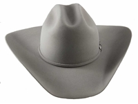 "Rodeo King Low Rodeo 5X Silver Belly 4 1/4""Brim w/ Buckle Set Band"