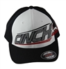 Cinch Black/White/Red FlexFit