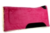 Mustang Pink Micro Suede Saddle Pad