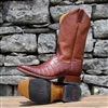 "Rod Patrick French Toe Cognac Caiman Belly ""Hennessy"""