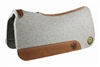"Bayou West 7/8"" 31X32 Gray Wool Saddle Pad"