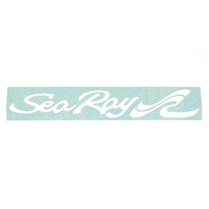 12-Inch Decal - White