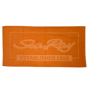 Established Beach Towel - Tangerine