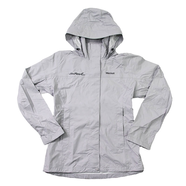Ladies Marmot PreCip Jacket - Platinum