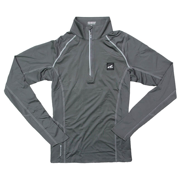 Women's OGIO 1/4 Zip Pullover - Gear Grey