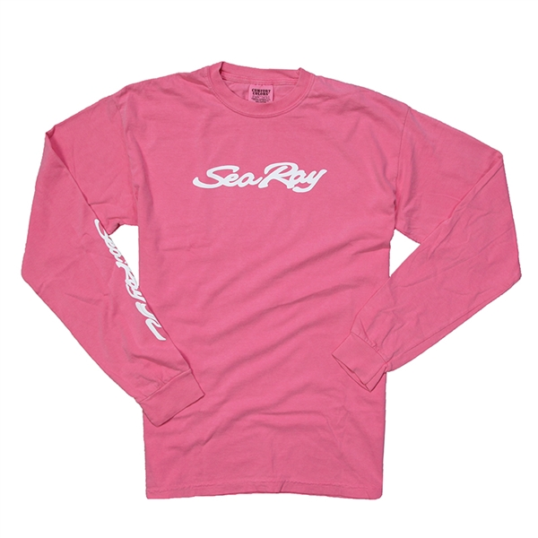 Ladies LS Comfort Tee - Crunchberry