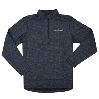 Men's Heathered 1/2 Zip Pullover