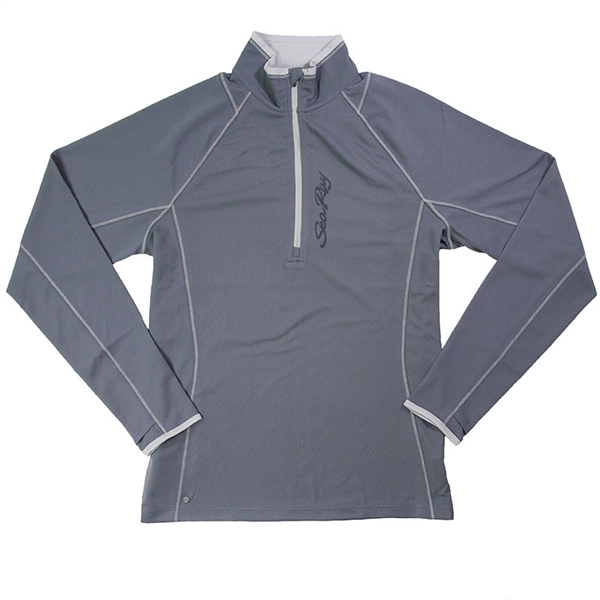 Men's Knew 1/2 Zip Pullover - Steel Grey