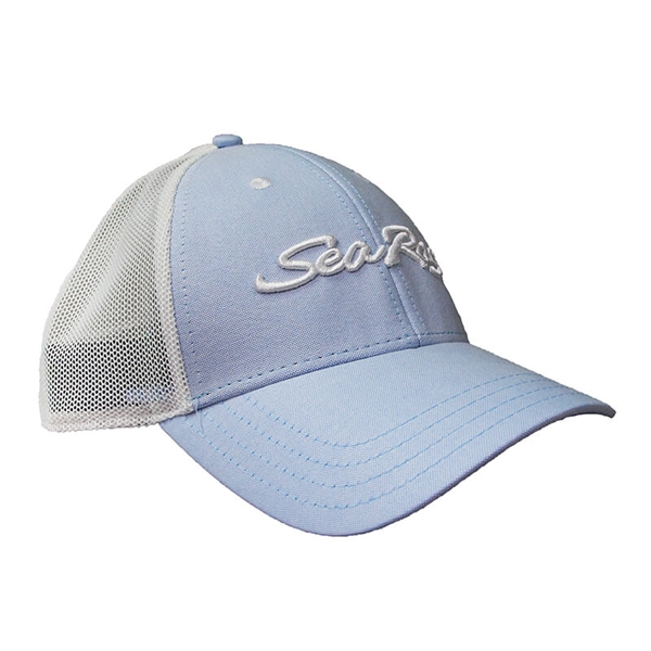 Breeze Cap - Blue Oxford / White