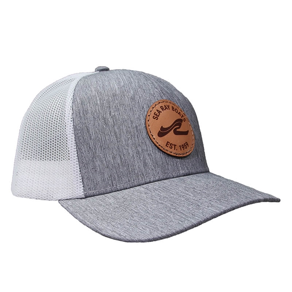 Leisure Cap - Heather Grey / White