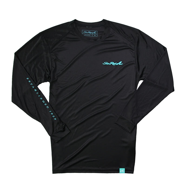 Sea Ray Protector L/S Sun Tee - Black
