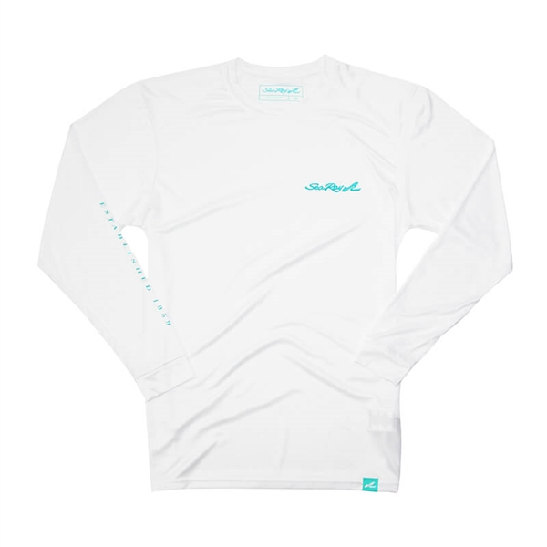 Sea Ray Protector L/S Sun Tee - White